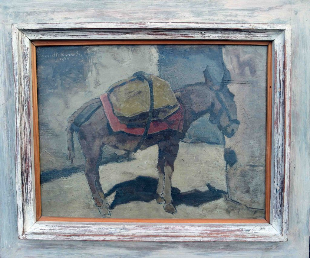 Koos Stikvoort Spaanse ezel