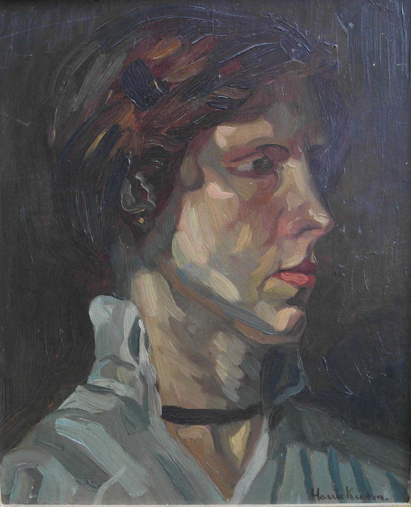 Harrie Kuijten Portret vrouw